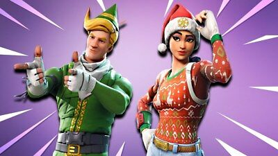 Personalized letter from SANTA Claus with Fortnite Christmas gifts