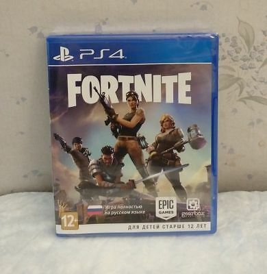 Fortnite PS4 (PlayStation 4) - Physical Disc (Rare, New, Sealed)