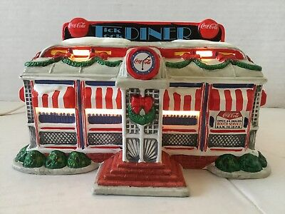 1994 Coca Cola Town Square Collection Tick Tock Diner