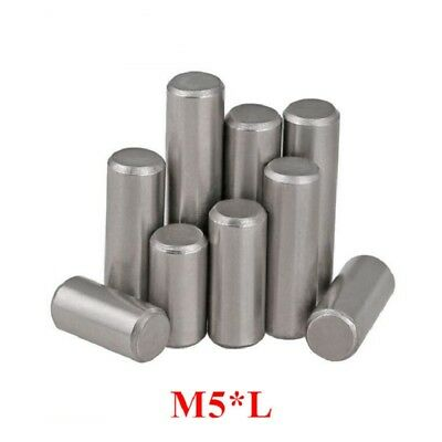 Chrome Steel Cylindrical Locating Pins Rod Solid Pin M5 5mm Dowel Pins Roller