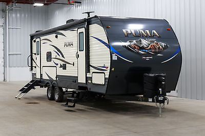 New Puma Xle 25Rkss Rear Kitchen Queen Bed 1/2 Ton Travel Trailer W 7Yr Warranty
