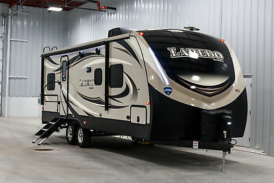NEW LAREDO 250BH LUXURY BUNKHOUSE OUTSIDE KITCHEN TRAVEL TRAILER  w7 YR WARRANTY