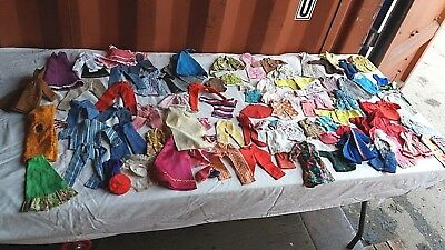 A Huge Joblot Of Vintage Sindy Doll Clothes-100 Various Items