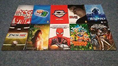 Sony PS2/Playstation 2 10 Instruction Manuals Bundle (8)