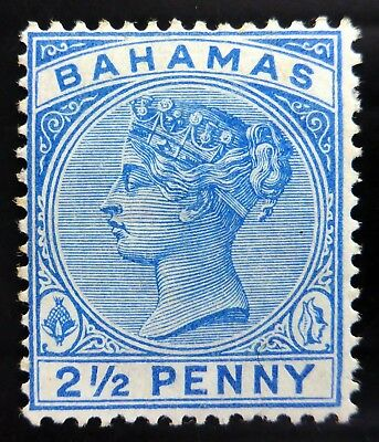 BAHAMAS 1888 - 2½d  SG50 Mounted Mint Cat £90 NL256