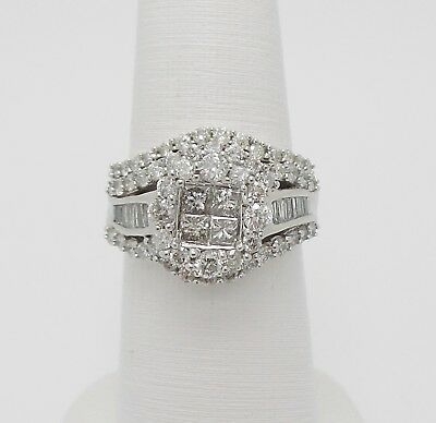 Pre Owned White Gold Diamond Engagement Ring Zales Includes