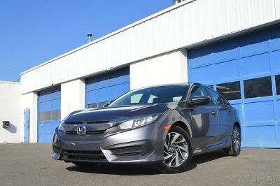 2016 Honda Civic EX Full Power Power Options Rear View Camera Power Moonroof Bluetooth Cruise & More