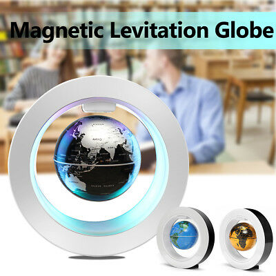 4'' LED Magnetic Levitation Anti-Gravity Floating Globe Educational Tool Gift