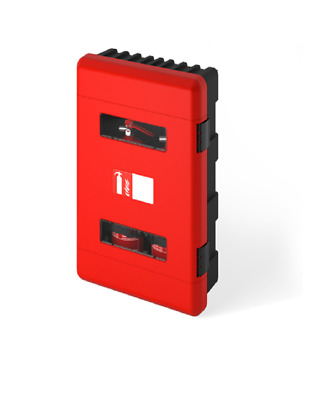 New Fire Extinguisher Cabinet - Double  (Cs03)