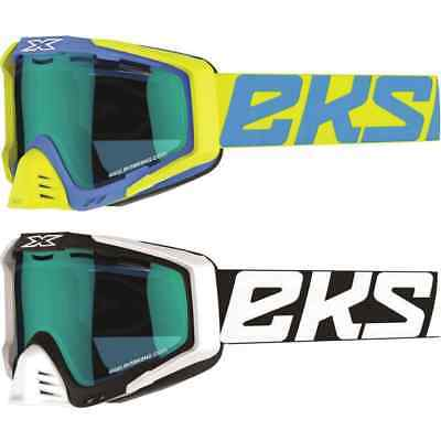 EKS EKS-S Cold Weather Mirror Lens Mens Sled Skiing Snowboard Snowmobile Goggles