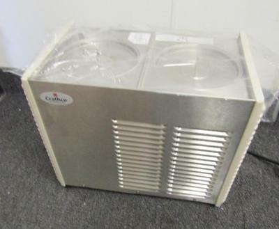 CRATHCO D25 4 Double Refrigerated Beverage Dispenser (NO BOWLS)