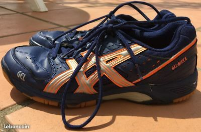 Asics Handball Block Eur 29 Indoor Gel Chaussures Solides 40 Très nNm0wv8Oy