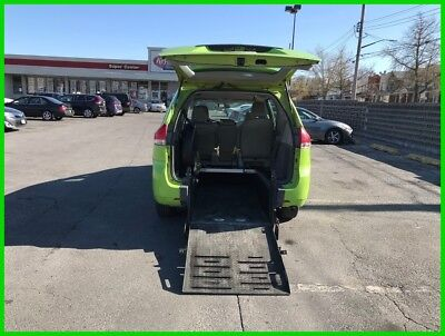 2014 Toyota Sienna LE V6 8 Passenger VAN WHEELCHAIR HANDICAP REAR ENTRY B2014 LE V6 Used 3.5L V6 24V Automatic