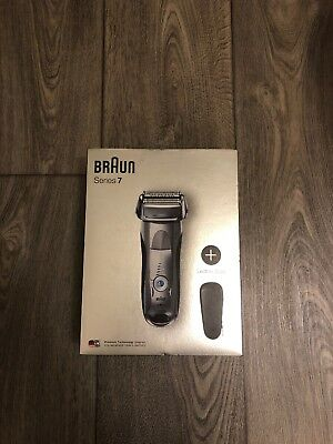 Braun Series 7 Electric Wet & Dry Shaver for Men 7893PS, Silver + Travel Case
