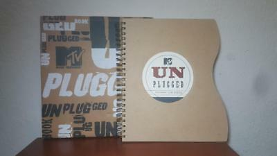 Vintage 1995 MTV Unplugged First Edition Book w/Sleeve