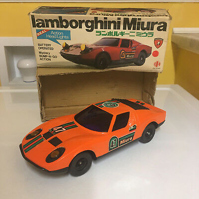 Chi Hung Lamborghini Miura With Box. Perfectly & Fully Working Very Rare!