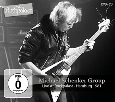 Michael Schenker Group-Live At Rockpalast -Cd+Dvd- (UK IMPORT) CD NEW