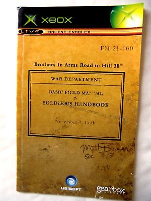 55876 Instruction Booklet - Brothers In Arms Road To Hill 30 - Microsoft Xbox (2