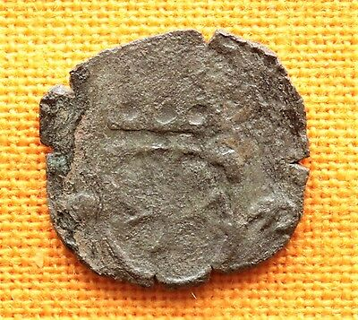 Medieval Teuton Knights Silver Coin - 13-14. Century, Crusader Silver
