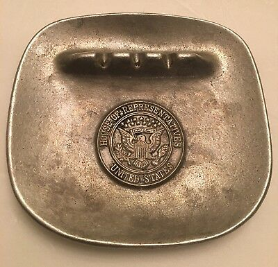 Vintage United States House Of Representatives, Ashtray, By Wilton Columbia  Pa.