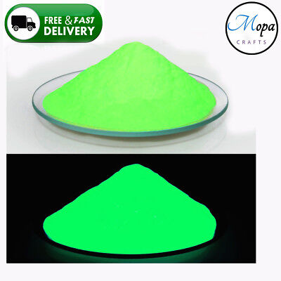Green Neon Glow in the Dark Pigment Powder for Paint,Nail,Art,Crafts,Acrylic