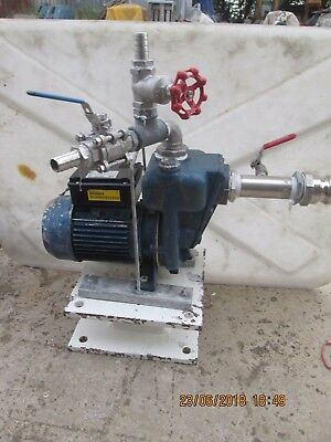 """2 """" inch / 50 mm - INDUSTRIAL PUMP - 110 VOLT -  GMP GUSSAGO  ITALY"""