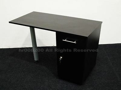 BLACK  Manicure Technicians Table Station Nail Bar