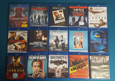 Lot of Blu Ray movies
