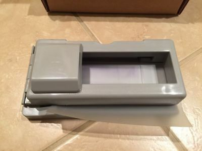 Addressograph Bartizan Mini 4105 Credit Card Imprinter w/ Ink Roller