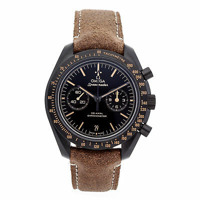 Omega Speedmaster Dark Side Of The Moon Vintage Schwarze Armbanduhr