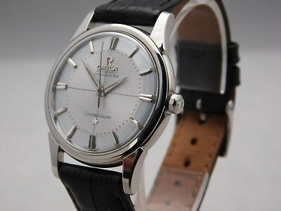 Omega Vintage 1960's Constellation Pie Pan Automatic Pre-Owned Mens Watch...34mm