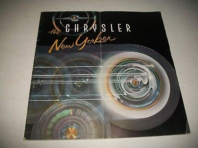 1956 Chrysler New Yorker Sales Brochure