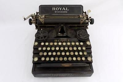 Antique 1910 Royal Standard Model 1 Typewriter