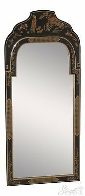 46474EC: Chinoiserie Decorated Wall Mirror