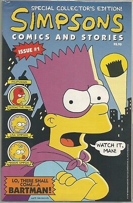 Simpsons #1 : Special Collectors Edition : Still sealed with Free Poster : 1993