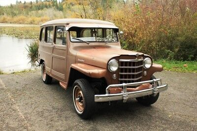 1951 Willys Station Wagon  1951 Willys Overland Ranch Wagon 4x4, Texas Barn Find, One Family Owned Since Ne