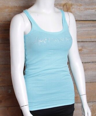 Victoria's Secret I Do Just Married Blue Tank Top Size Small NWT