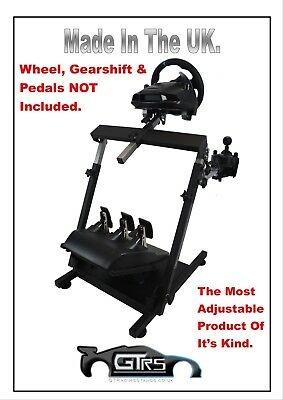 STEERING WHEEL STAND THE ULTIMATE for LOGITECH THRUSTMASTER FANATEC UNIVERSAL
