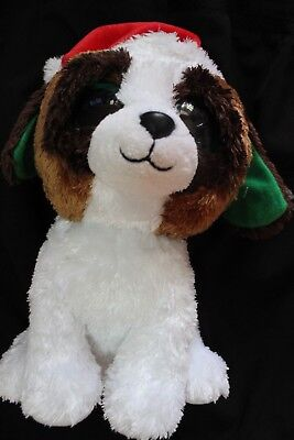 98ee18ad493 ty beanie boos 9 inch xmas christmas presents the dog solid eyes w heart tag