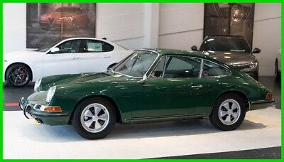 1967 Porsche 911  '67 911S. Irish Green. Numbers Matching. Accurate Concours Quality Example
