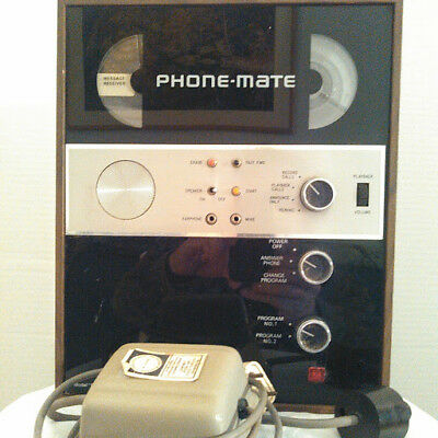 Vintage Phone Mate 800S Answering Machine
