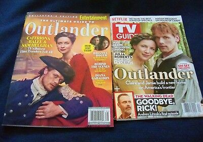 Entertainment Weekly Ultimate Guide To Outlander & TV Guide Oct. 2018 Outlander