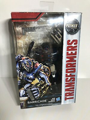Transformers The Last Knight Premier Edition Deluxe Barricade