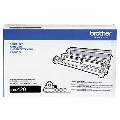 OEM Genuine Brother DR420 Drum Unit 12,000 Yield for Series HL DCP MFC FAX UNS