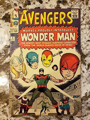 Avengers #9 1st Appearance of Wonderman Beautiful Book