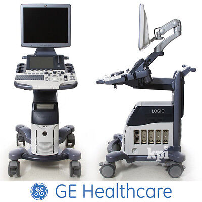 "19"" LOGIQ S8 Ultrasound - GE Healthcare System with M5S-D DICOM B-Steer+"