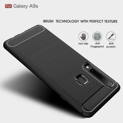 FOR SAMSUNG GALAXY A9 2018 Case Shockproof Bumper Rubber Thin Back Cover for A9s