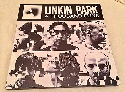 Linkin Park A THOUSAND SUNS Album Art CANVAS 24 x 24 Deftones BENNINGTON STP