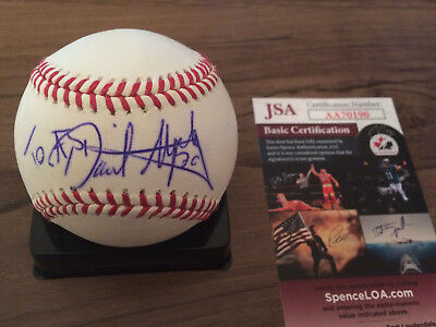 Balls Autographs-original Sporting Howard Johnson Signed Oml Ball New York Mets Colorado Rockies Cubs Tigers Ny Jsa