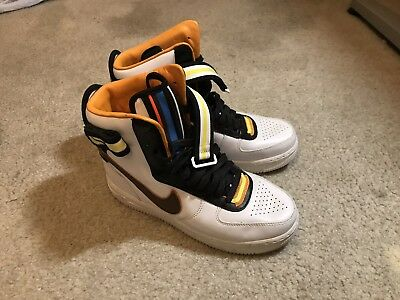 super popular 1bcda 3b1fc NIKE AIR FORCE 1 High SP RT Riccardo TISCI US sz 8.5 Mens white OG